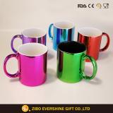 11oz Electroplating Multicolor Spraying Ceramic Coffee Mug