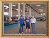 Our clients visiting our production line