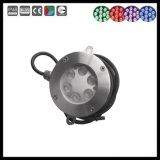 18w r/g/b/w/rgb ip68 stainless led underwater light