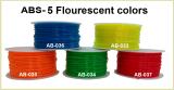 5 Flurescent Color ABS 3D printer filaments
