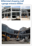 Prefabricated House Steel Structure Shopping Mall Project