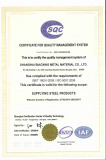 Certificate For Quality Mangement System