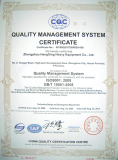 ISO9001-2008 Certificate