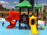 Outdoor playground in Water