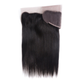 8A Brazilian Lace Frontal Closure Free Part 13X4 Brazilian Virgin Hair Straight