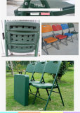 Plastic army used folding chair
