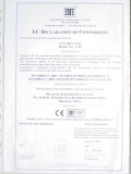 Lightbar CE certificate