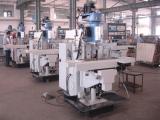 CNC turret milling machine workshop