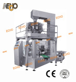 Preformed Pouch Weigh-Fill-Seal Machine for Food