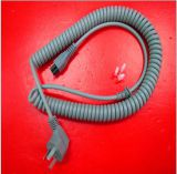 CCC certified Spiral power cord for Chinese market