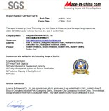 SGS Supplier Assessment