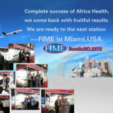 Complete success of Africa Health
