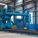 Steel pretreatment production line