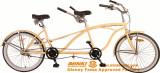 26′′ single speed tandem bicycle tandem beach cruiser