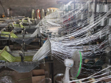 Duct rodder production line