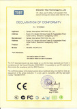 CE certificate for mp3
