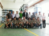 Unilever China region responsible person to visit the zengran packing machine company