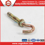 Zinc-plated Anchor bolt with Hook