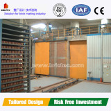 High quality clay brick chamber dryer with professional design