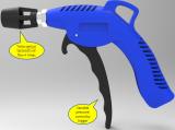 Air Blow Gun with Turbo Venturi Tip (Professional) (ABG-16)