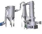 Technological processes and characteristics of flash dryer
