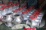 Autorun manual pinch valve