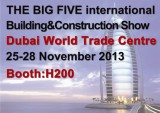 The Big Five International Buliding & Construction Show Dubai World Trade Centre