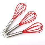 silicone whisk device for egg