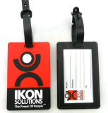 Soft PVC Rubber Luggage Tag