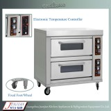 Double-Layer Four-Tray Commercial Electric Pizza Oven