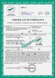 Tense update CE Certificate