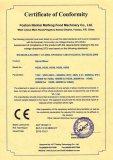 CE (LVD) certificate for dough mixer