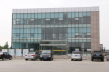 The new factory Office building