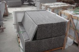 strong wooden crate for granite stair step