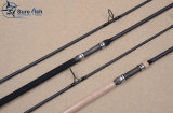 IM12 high carbon 1k woven carbon carp fishing rod