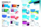 hotsell PP file folder in America and Europe Marketing