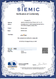 FCC Verification of Conformity of EIB/MIB series