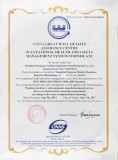 CHINA GREAT WALL QUALITY ASSURANCE CENTER OCCUPATIONAL HEALTH and SAFETY MANAGEMENT SYSTEM CERTIFICATE