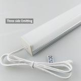 Three side lighting uniform light source for wardrobe