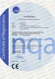 CE Certificate of Rolling barrel a