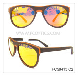 popular woody polished sunglasses for europe market