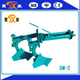 double plough for walking tractor