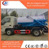 sewage tank truck