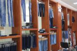 Showroom for denim fabric