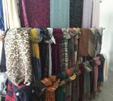 Loop yarn scarf series