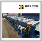 KXD servo motor glazed roofing tile machine