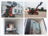 Telescopic loader ship to Austria