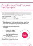 Sedex Members Ethical Trade Audit (SMETA)Report