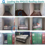 PPGI & GI Steel Sheet Loading