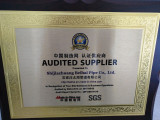 Chinese audited supplier